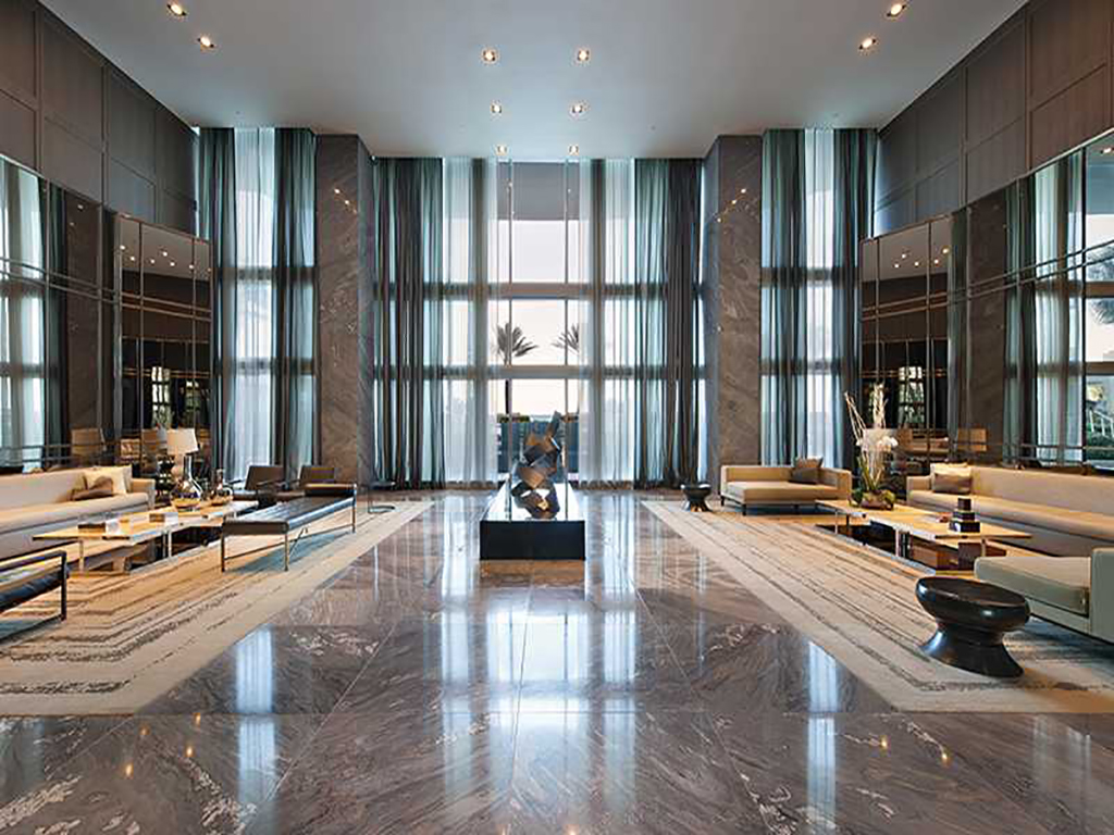 Palissandro Blu. Marmo. # Trump Hotel Hollywood4)